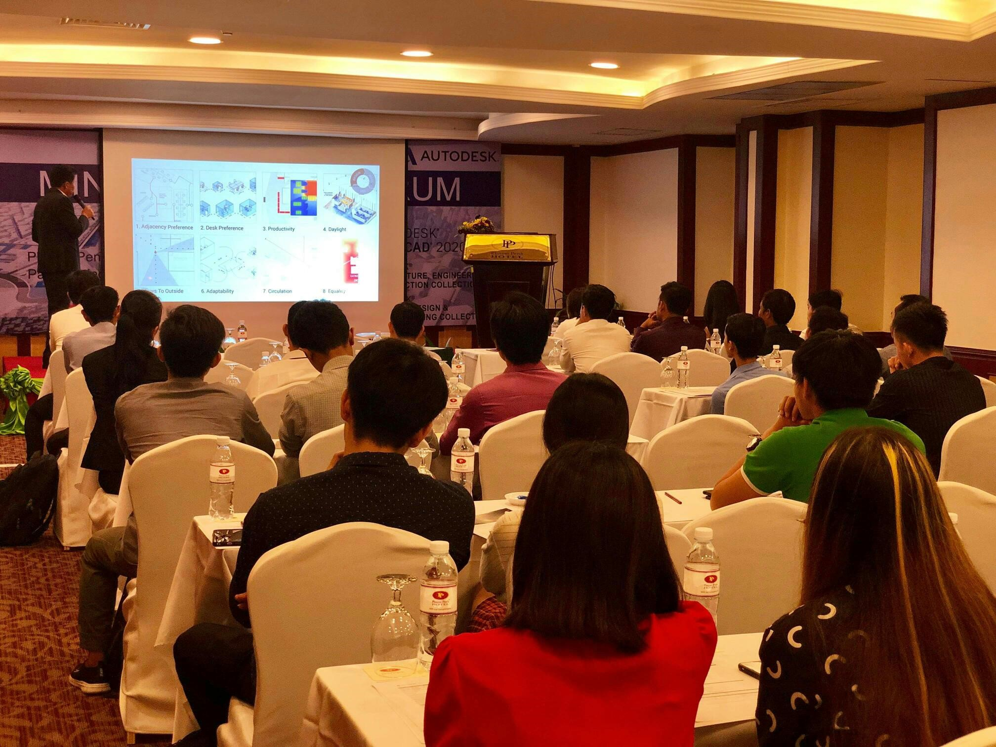 Softline Cambodia at the event