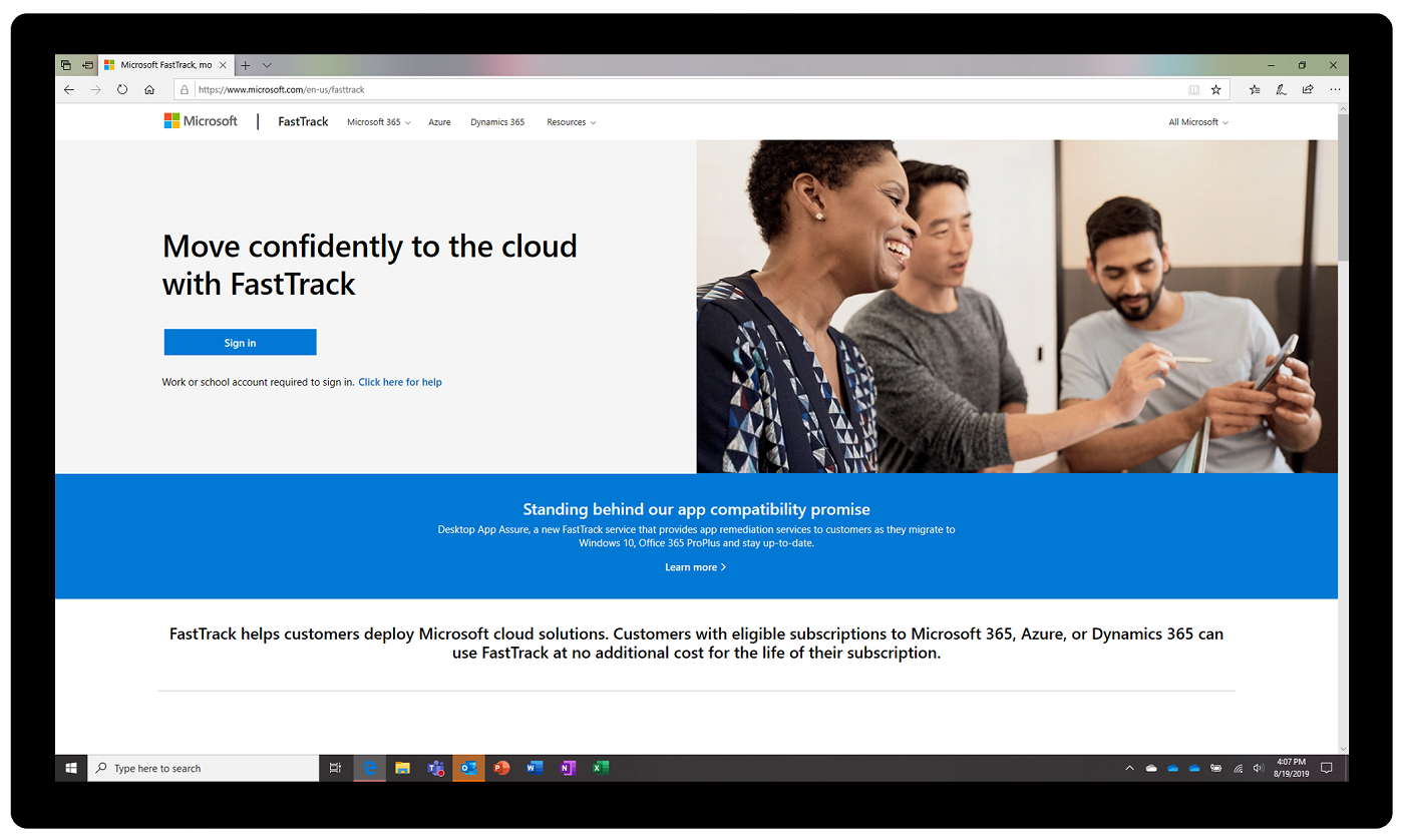 Migrate to Windows 10 with new FastTrack guidance